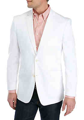 1379f5311 Madison White Solid Stretch Sportcoat ...