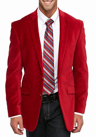 Madison Red Velvet Sport Coat | belk