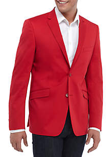 Big & Tall Motion Stretch Cotton Sport Coat