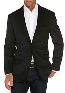 Black Vine Velvet Spot Coat