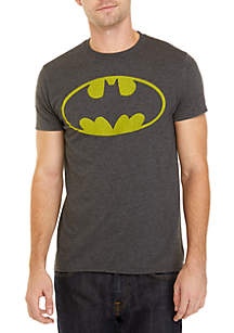 BioWorld Batman Logo Distressed Tee