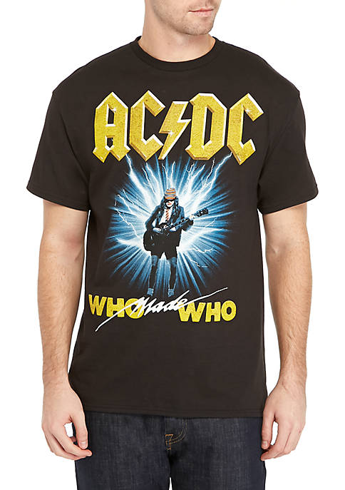 BioWorld AC/DC Who Made Who Short Sleeve Shirt
