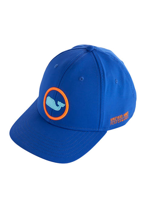 Neon Whale Graphic Dot On-The-Go Baseball Hat