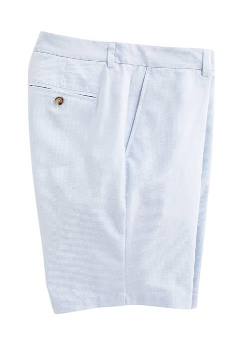 9 Inch Seersucker Breaker Shorts