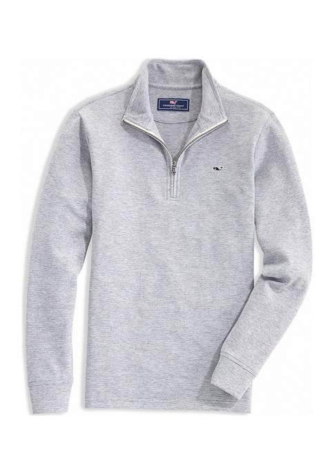 Mens Saltwater 1/4 Zip Pullover