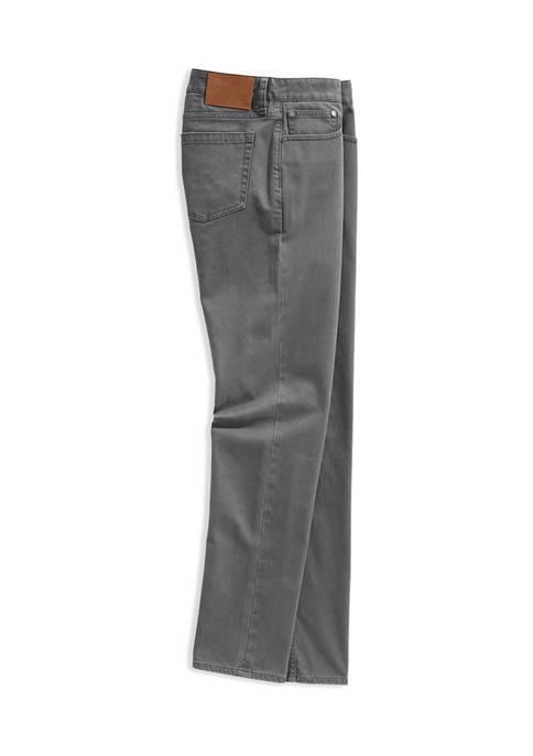 Mens Island Twill 5 Pocket Pants
