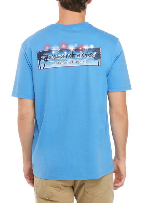 Short Sleeve Fireworks Box Logo T-Shirt