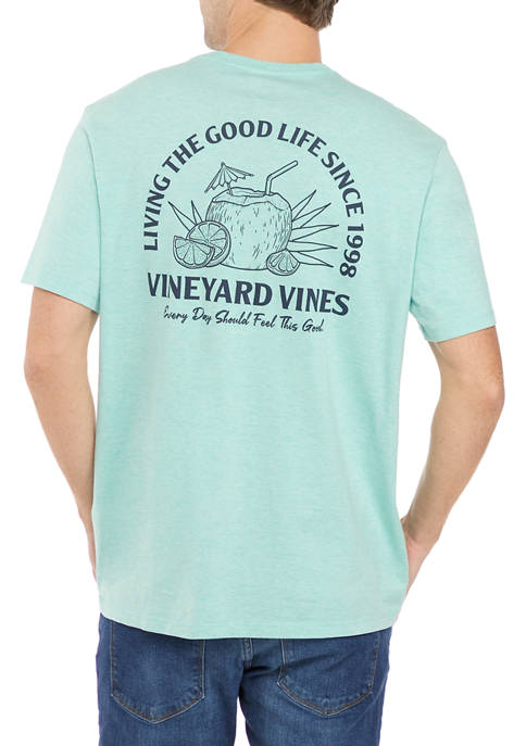 Short Sleeve Good Life Slub T-Shirt