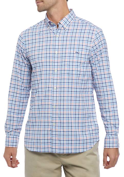 Classic Checkered Dress Shirt