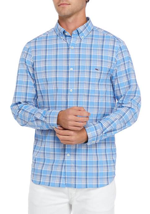 Classic Plaid Button Up Shirt