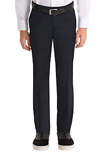 Lauren Ralph Lauren Boys 8-20 Plain Navy Wool Straight Pants