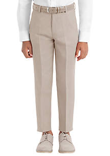 Lauren Ralph Lauren Boys 8-20 Tan Plain Linen Pants