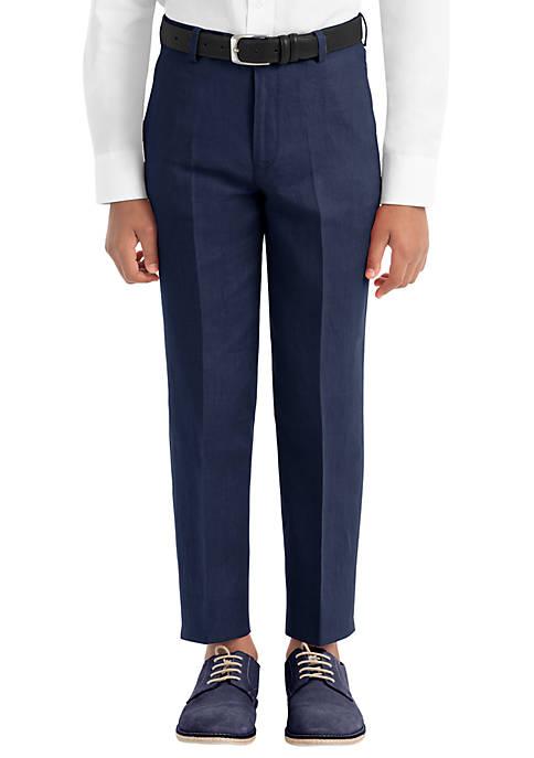 Lauren Ralph Lauren Boys 8-20 Navy Linen Plain