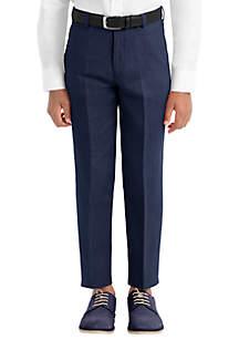 Lauren Ralph Lauren Boys 8-20 Navy Linen Plain Pants
