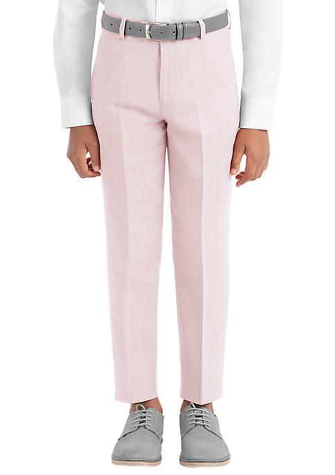 Lauren Ralph Lauren Boys 8-20 Plain Pink Linen
