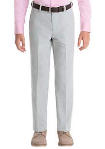 12454eab ... Lauren Ralph Lauren Boys 8-20 Blue Stripe Cotton Pants