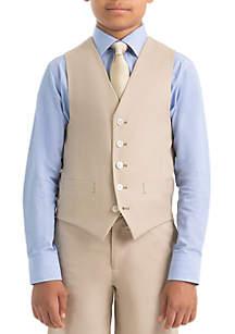 Lauren Ralph Lauren Boy 8-20 Plain Tan Vest