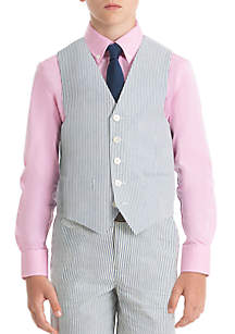 Lauren Ralph Lauren Boys 8-20 Blue Stripe Cotton Vest