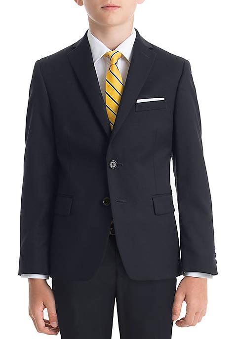 Lauren Ralph Lauren Boys 8-20 Navy Solid Wool
