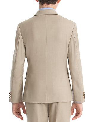 7496fbe5c ... Lauren Ralph Lauren Boys 8-20 Tan Solid Wool Natural Stretch Jacket ...