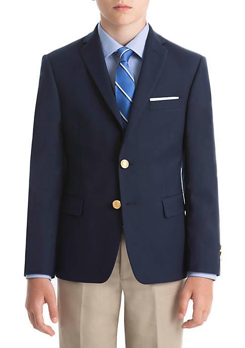 Lauren Ralph Lauren Boys 8-20 Bright Navy Plain