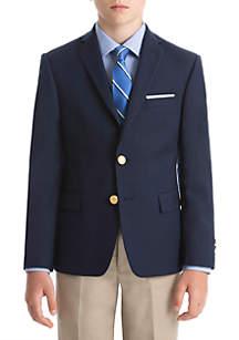 Lauren Ralph Lauren Boys 8-20 Bright Navy Plain Cool Max Blazer
