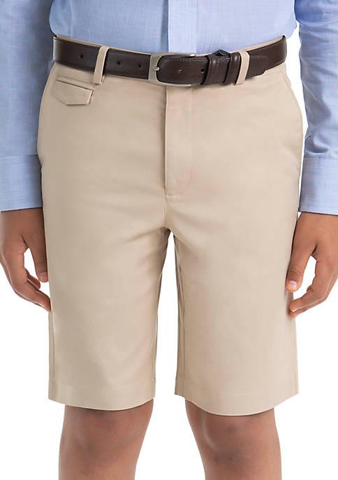Lauren Ralph Lauren Boys 8-20 Plain Tan Cotton