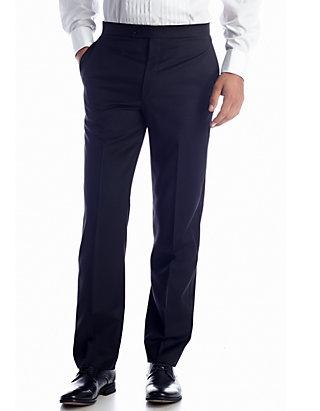 2790a861da Lauren Ralph Lauren Classic Fit Eagan Tuxedo Flat Front Pants