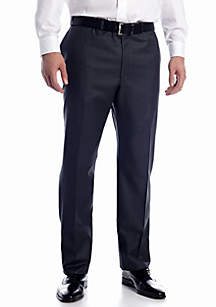 Big & Tall Ultraflex Suit Separate Flat Front Pants