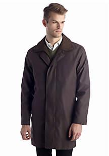 Lauren Edgar Brown Short Raincoat