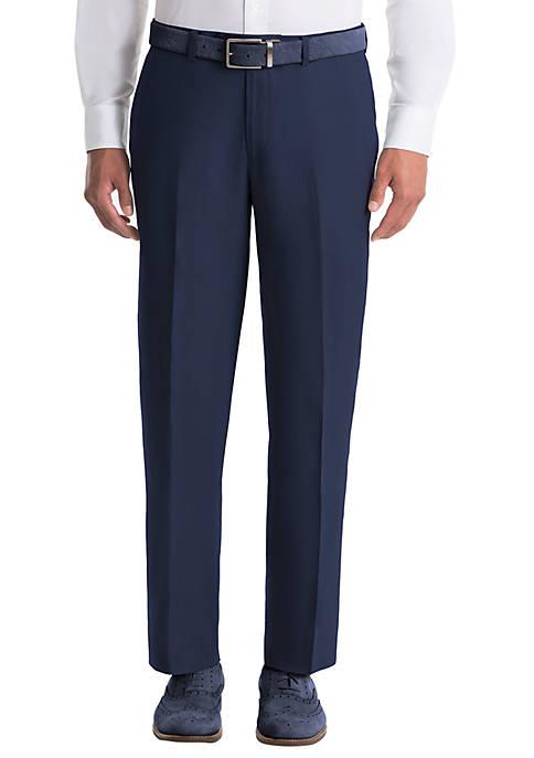 Lauren Ralph Lauren Plain Navy Linen Pants