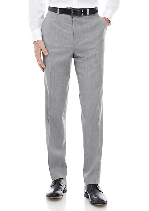 Lauren Ralph Lauren Light Gray Solid Pants