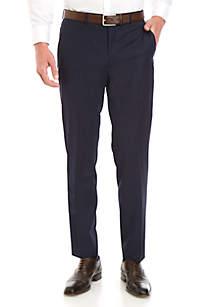 Lauren Ralph Lauren Navy Solid Dress Pants