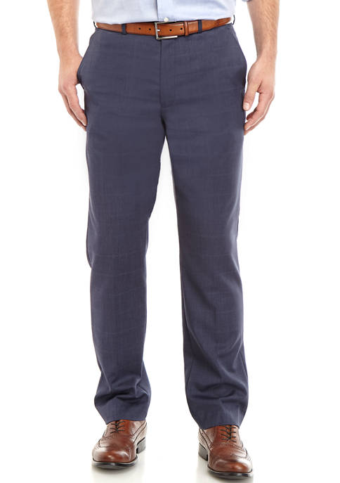 Mens Windowpane Pants