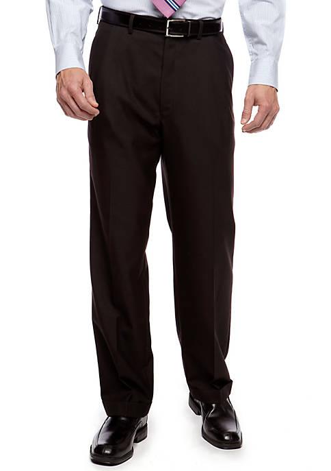 Classic Fit Ultraflex Sharkskin Suit Separate Pants