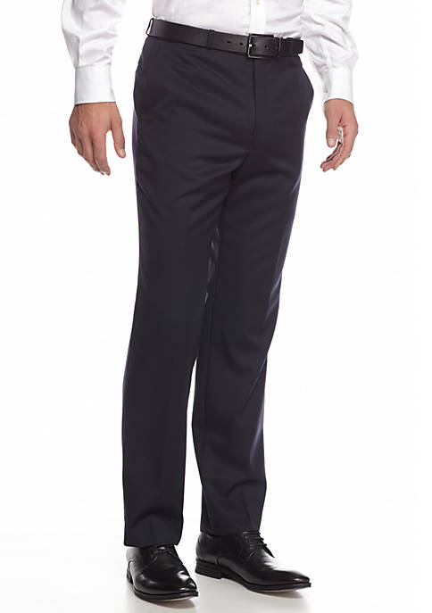 Lauren Ralph Lauren Mens Classic-Fit Tailored Pants
