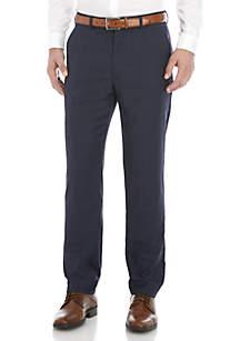 Lauren Ralph Lauren Navy Plaid Suit Pants