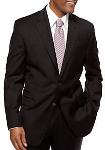 Ultraflex Portly Sharkskin Suit Separate Coat