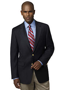 Big & Tall Portly Navy Comfort Blazer