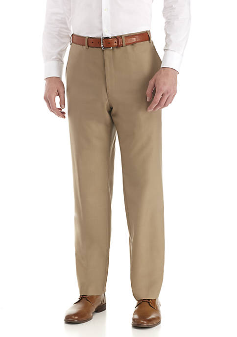 Lauren Ralph Lauren Plain Flat Front Pants