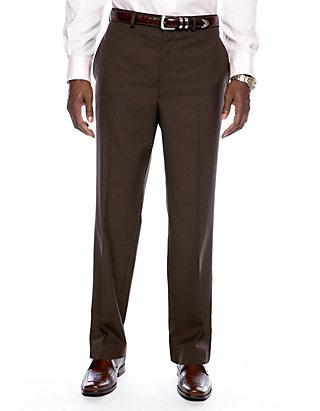 a4ec6ea5 Lauren Ralph Lauren Straight Fit Flat Front Dress Pants   belk