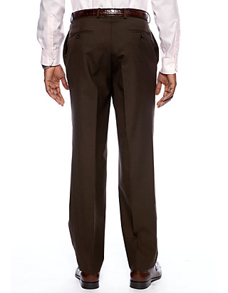 aa8f6bd0b5e3 Lauren Ralph Lauren Straight Fit Flat Front Dress Pants | belk