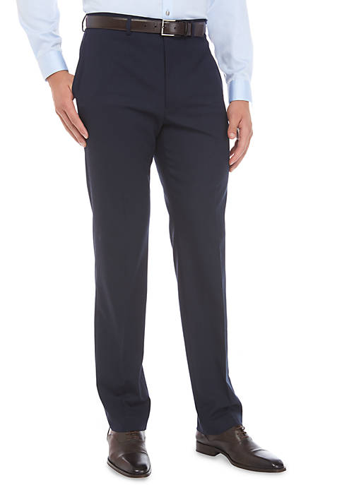 Ultraflex Stretch Flat Front Pants