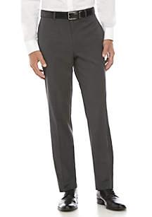 Dark Grey/Black Checkered Stretch Pants
