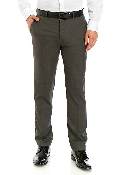 Small Multi Tic Weave Dress Pants