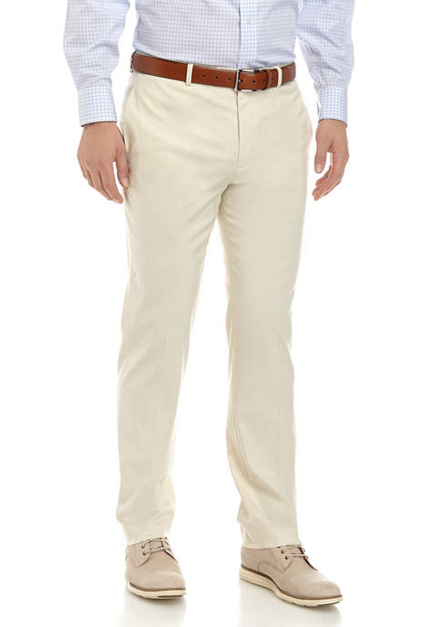 Mens Ultraflex Solid Stretch Pants