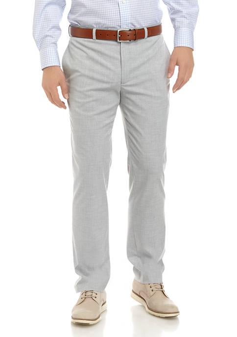 Mens Ultraflex Solid Stretch Pants