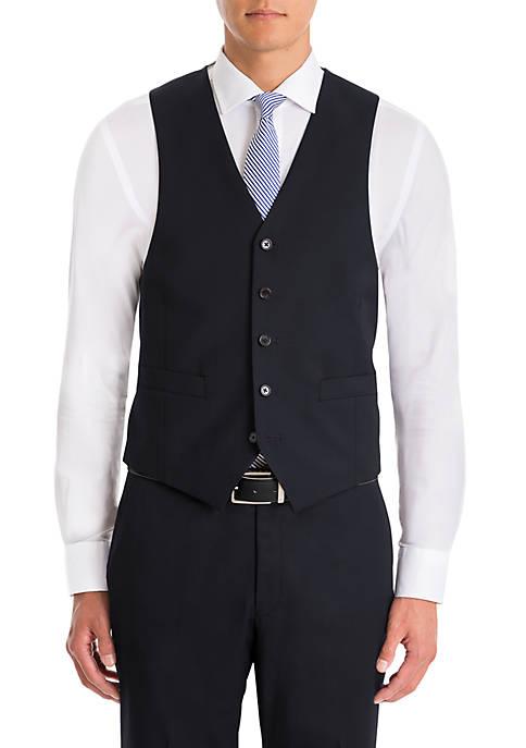 Plaid Wool Vest