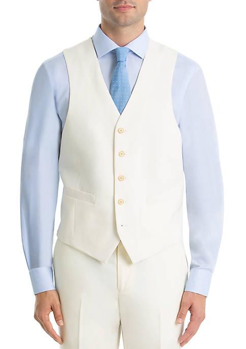 Twill Wool Vest