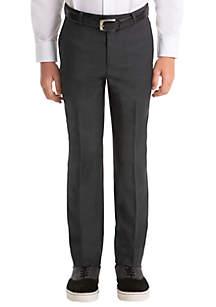Lauren Ralph Lauren Boys 4-7 Plain Gray Woolen Pants